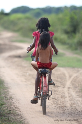 Going home, Cambodia ©KathyWestStudios