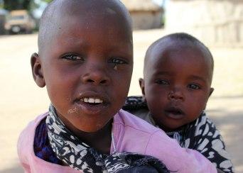 Maasai childen ©KathyWestStudios